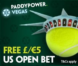 Paddy Power US Open Promo