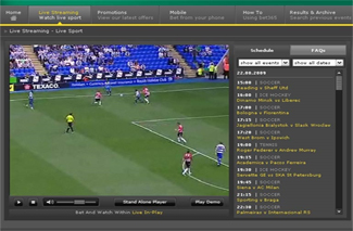 bet365 full screen video