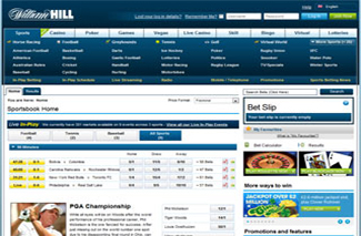 william hill sports screenshot